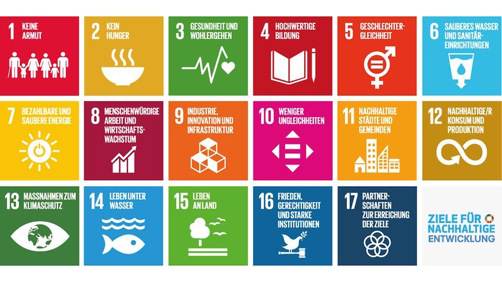 Ziele für eine nachhaltige Entwicklung der Agenda 2030